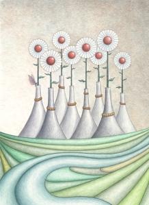 Lawn Vases
